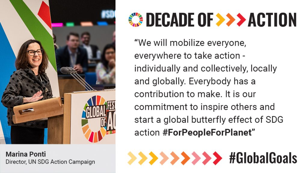 A Decade of Action for Ending Poverty, Gender Equality and Climate Ambition | UN SDG Action Campaign